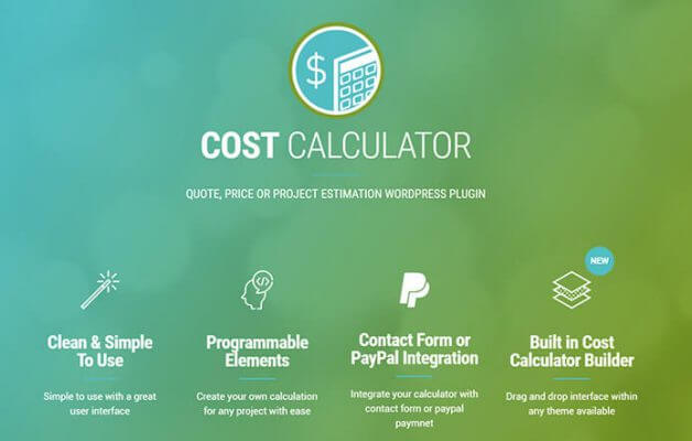 Обзор Cost Calculator WordPress