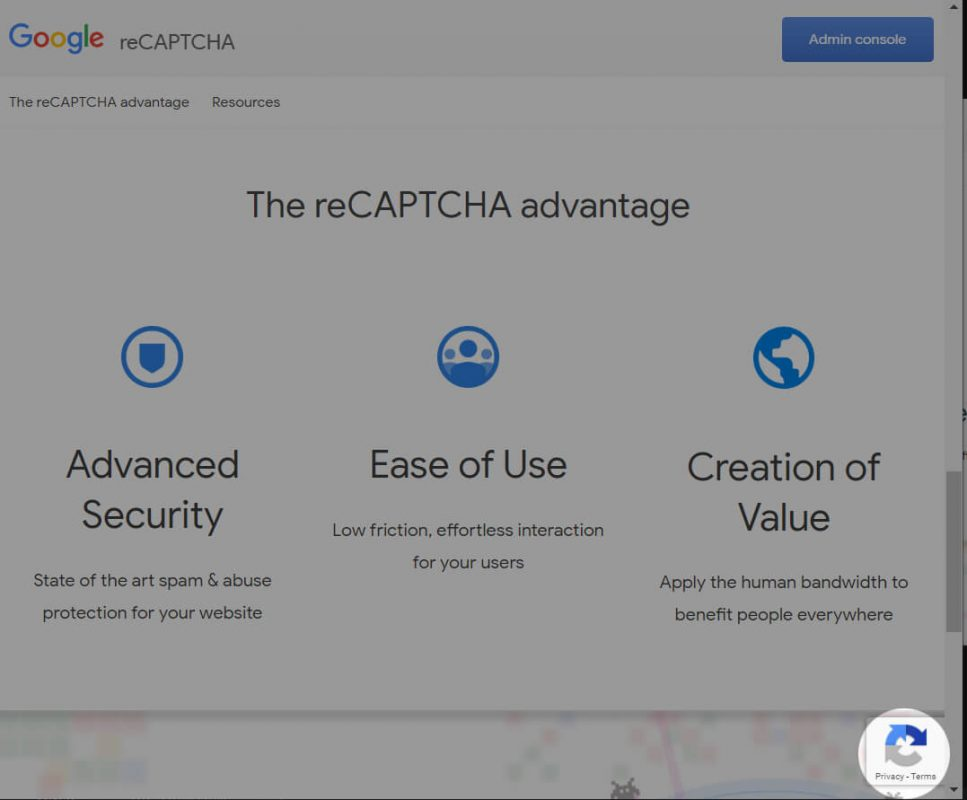 How to remove reCAPTCHA v3 icon?