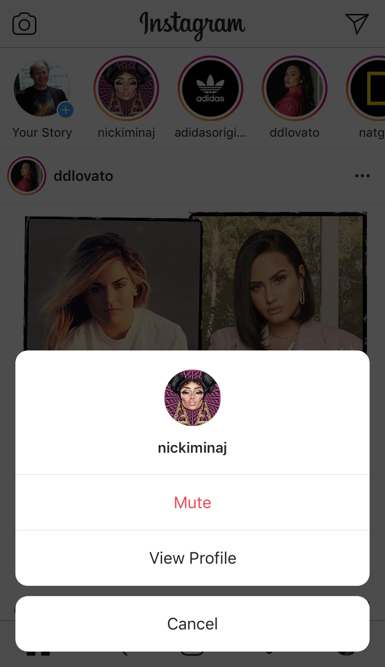 How to add an Instagram story?
