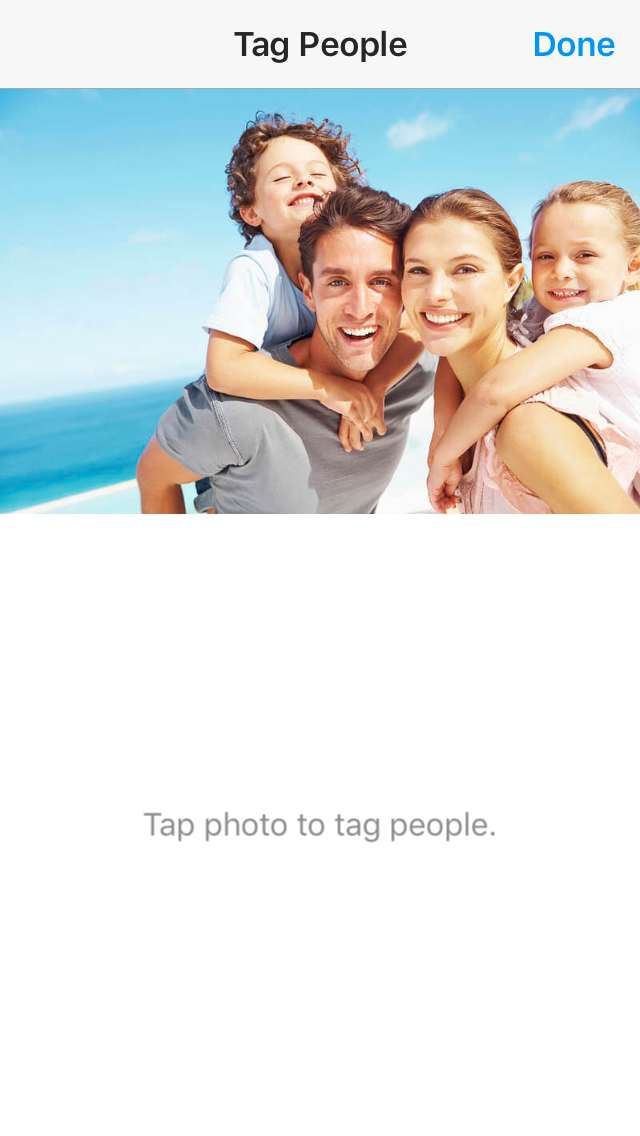 How to tag people on Instagram post?