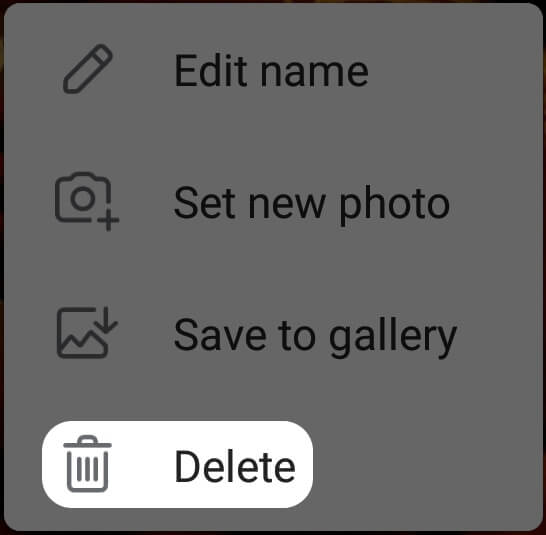 How to remove anything from Telegram?